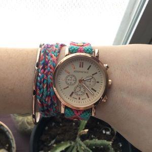 Aeropostale Boho multicolor watch
